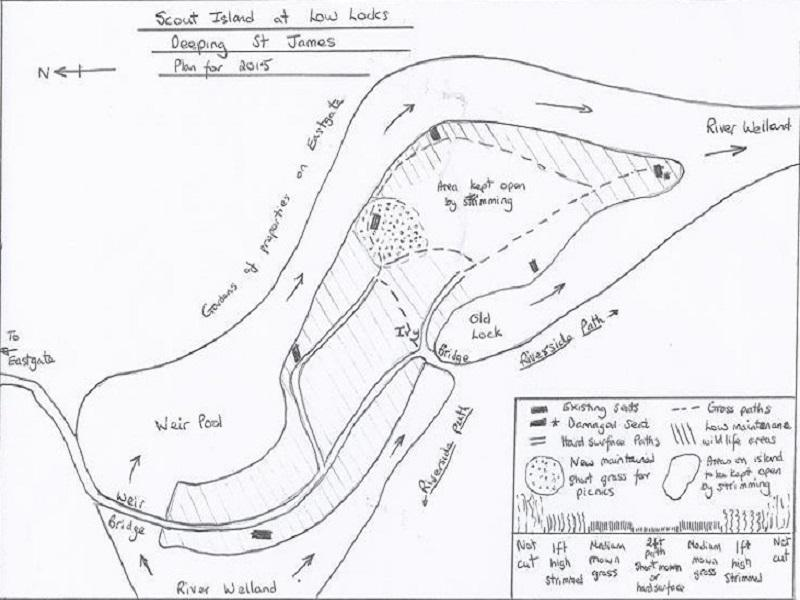 The plan for work at Low Locks for the coming year