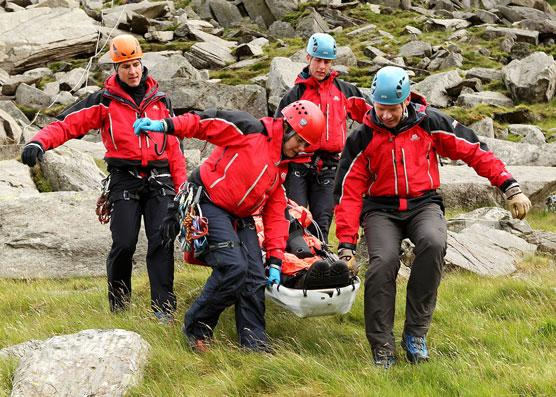 To have to call out Mountain Rescue once is unfortunate but twice? Former Rotarian David Thomas thankfully survived to tell the tale!