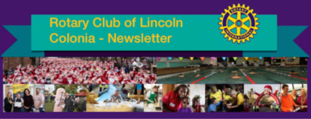 Newsletter of the Rotary Club of Lincoln Colonia