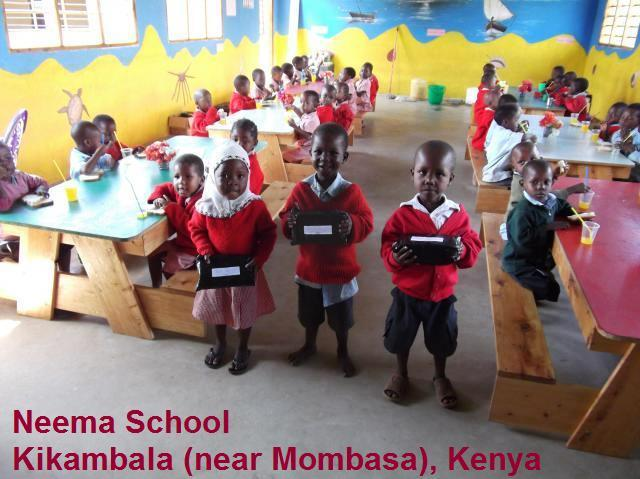 Margaret & Geoff Trimby raised £60,000+ and built a school in Kenya