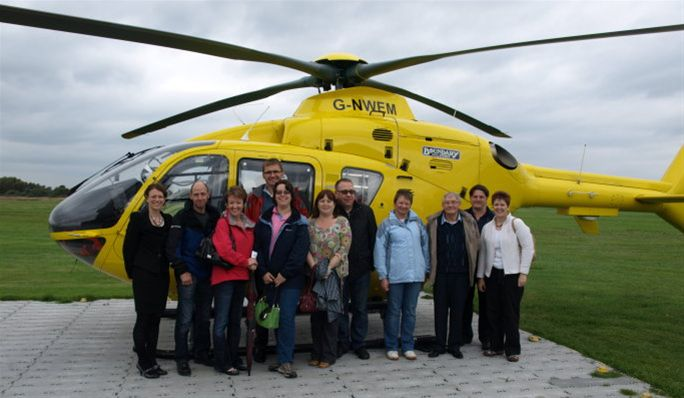 2011 - Visit to North West Air Ambulance - Visit to North West Air Ambulance