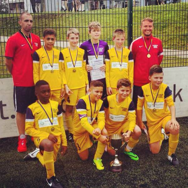 Local Club wins National Football Tournament - Potters Bar and Villages football squad win the RIBI Inter-District U12 Football tournament