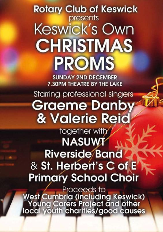 Keswick's Own Christmas Proms - 2018 Proms