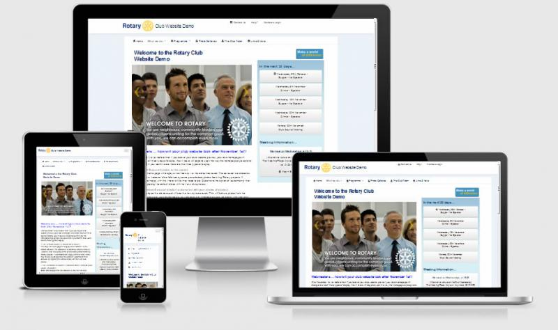 Why A New Template Rotary Club Of Website Demo