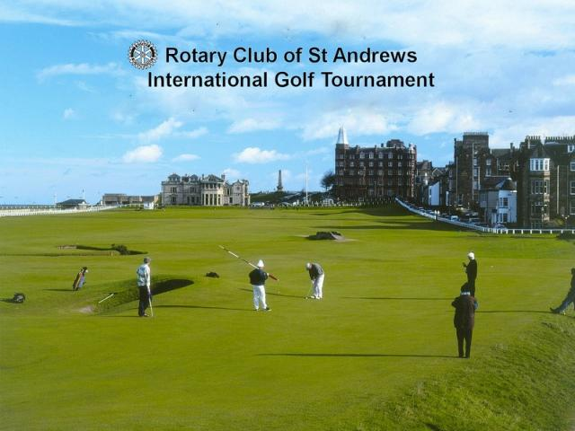 Diamond Jubilee of Rotary Golf at St Andrews  - Old Course