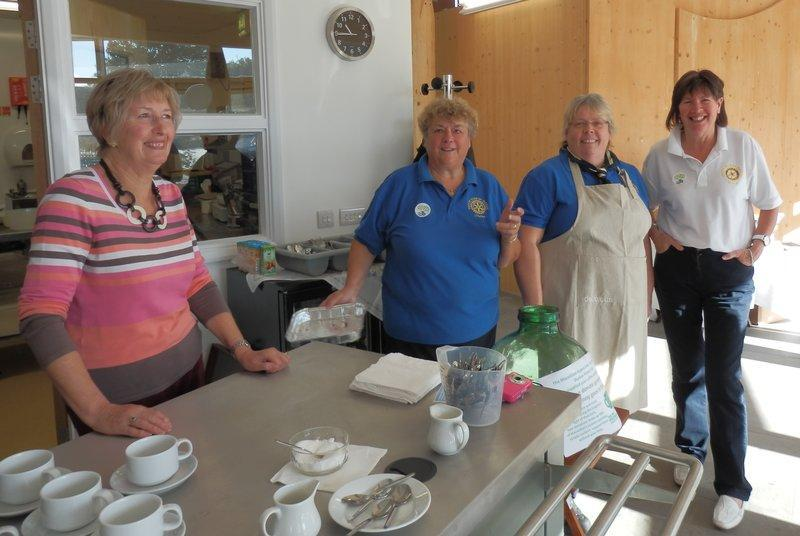 Rotary helpers at last year's event.