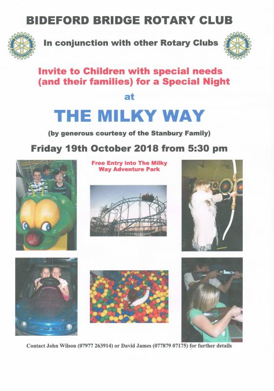 Special Children's Night at The Milky Way -