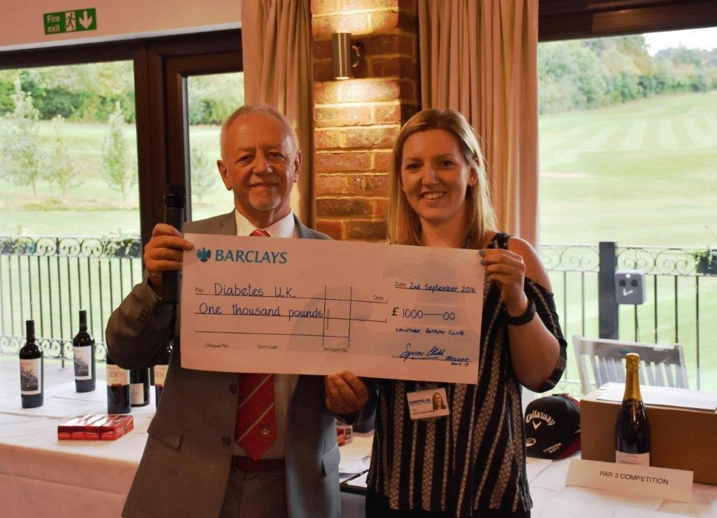 Charity Golf Day 2016 -