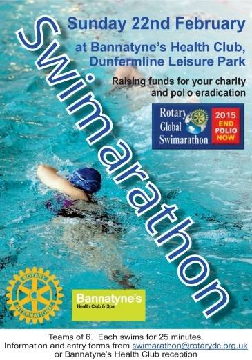 Swimarathon to be held at Bannatyne's Dunfermline in February