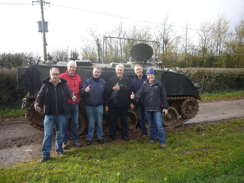 Mini and Tank driving - December 2013 - .