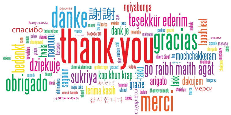 Image result for thank you donations
