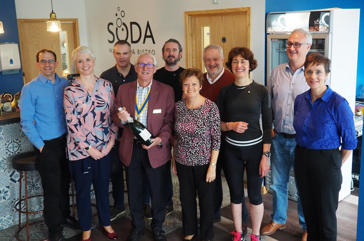 Oct 2018 Celebration of Satellite Group 8 new Inductions ! - new members with James & Jools