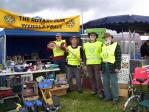 Rotary at Wensleydale Show 2015 - The tent with Rotarians