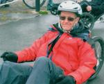The Calvert Trust - Our member Paul at Calvert Trust