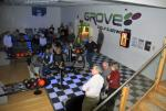 Steak and bowls at the Grove in Leominster - General view of our crowd...