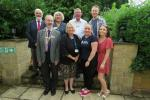 Guests from Charities -- Bournestream Trust, Local Young Careers, Dursley in Bloom, Allsorts, and Hope For Tomorrow