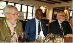 New President and President Elect installed for 2019/20 - Retiring President John Morton,  Assistant Governor Debo Adesina