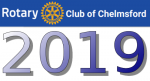 Club logo with 2019 date