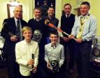 Club Visit by Buxton Hockey Club - Hockey Players 'old' and 'new'!