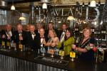 "85th. Clitheroe Rotary Birthday Party! - ""Nobody messed-up as President Sandy & his honoured guests got behind the bar to help Holmes Mill staff get the beers in!"