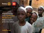 The Rotary Foundation - PolioPlus -