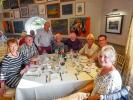BBQ at Coniston with partners -