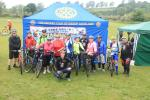 ROTARY RIDE 2016 - SUMMER CYCLE EVENT!!! - Cyclists before race commences