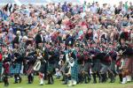 Pipe Bands Procession in the Main Arena