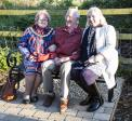 "Thame Rotary""™s latest community project: Brian""™s  Seat on Phoenix Trail - Jeannette Matelot Green, Brian Matthews, Linda Emery"