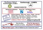 Fund raising with CAMRA - Fund raising at CAMRA Festival - tombola donors & benefiting charities