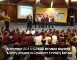 Support for local school library - .