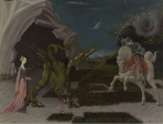 Saint George and the Dragon is a painting by Paolo Uccello dating from around 1470. It is on display in the National Gallery, London