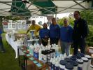 Rotarians manning the Rotary Stall at a previous Community Market