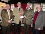 Dr Kershaws Hospice - Music Night cheque presentation