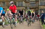 ....at the Broughton Castle Cycling Festival