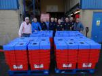 Water Survival Boxes made ready -