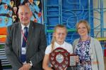 Ella Cox receiving her Pupil of the Year 2019