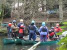 Woodlands Family Adventure Day - The Hoki Koki in canoes.