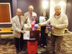 BRAS FOR AFRICA - Erddig Rotarians start our Campaign