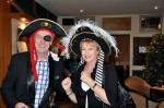 Christmas Party - President David and his wife Clare in pirate aiming to capture the mood of the evening