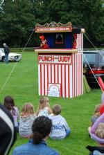 Woking Summer Festival 2008 - Punch & Judy at Woking Summer Festival 08 enjyed by Kids young and old