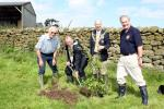Trees For Nidderdale (Carbon Offset) - Dallowgill Tree Planting