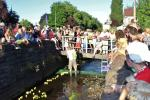 Keeping the Ducks going at the Whitchurch Festival