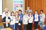 Quiz Kids - Primary School Quiz Competition - Grasmere School's teams show off their medals and certificates after winning the competition on Wednesday July 13th 2016