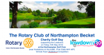 Rotary Becket Annual Charity Golf Day