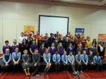 All the Rotakids with DG Gary Louttit and President George Russell