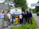 Support for Cairngorm Mountain Rescue - The Rotary Club purchased a specialist quad bike for Cairngorm Mountain Rescue and here are some of our members unveiling a plaque that acknowledges our support.