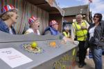 The Mark II version of the Human Fruit Machine in action at a previous lifeboat day