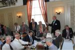RIBI President's Visit - August 7, 2014 - RIBI President Peter King being introduced to the club