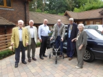 Garden Party at Thomas's House - Arrival of Hon Member Roland Davies PHF
